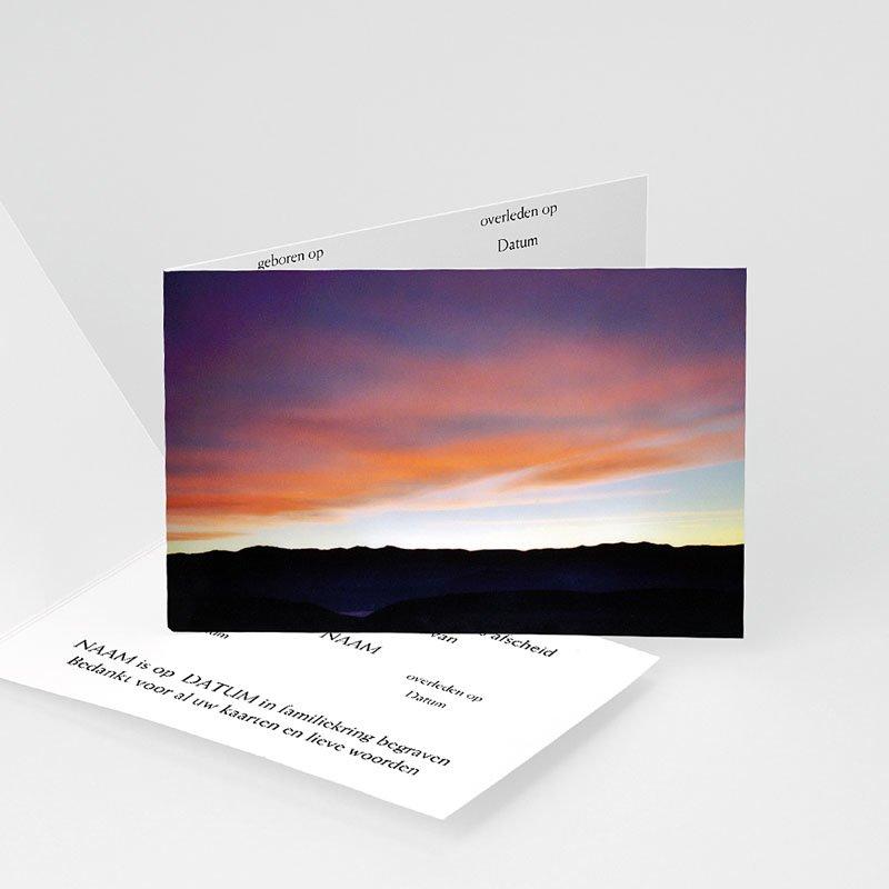 Universele rouwkaarten - Dramatische lucht 11939 thumb