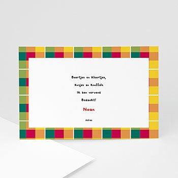 Bedankkaartje geboorte dochter - Tropical baby - 1