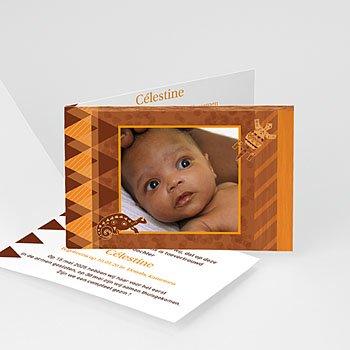 Adoptiekaarten voor meisjes - Viva Afrika - 1