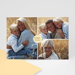 Aankondiging Multi-photo Mooie fotokaart