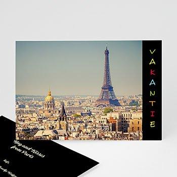 Fotokaart, 1 eigen foto - Vakantiegroetjes in kleur - 1