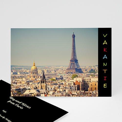 Fotokaart, 1 eigen foto - Vakantiegroetjes in kleur 11989 thumb