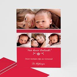 Bedankkaartjes Geboorte De eerste dag