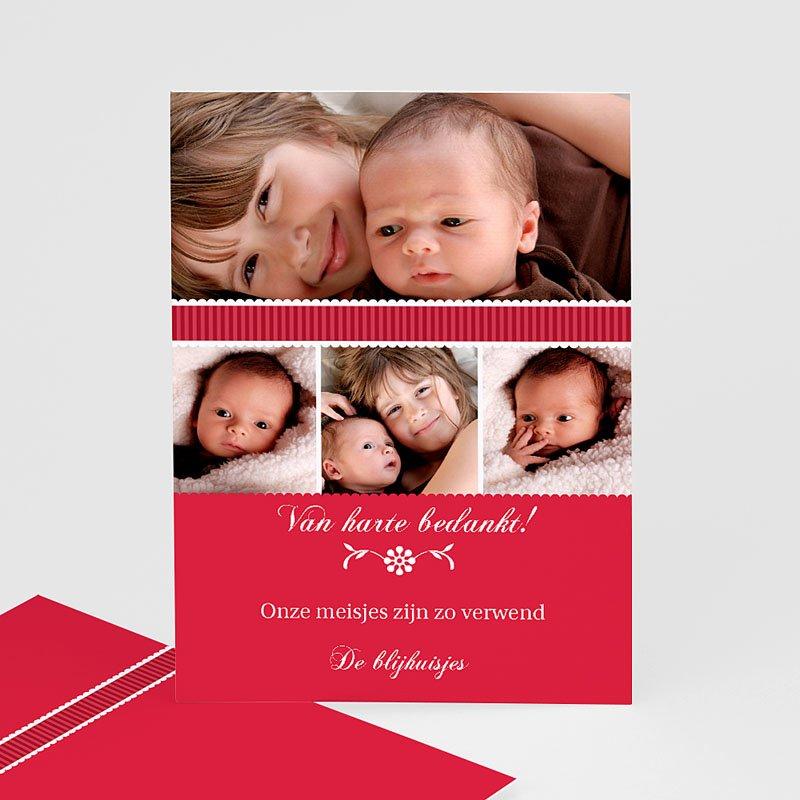 Bedankkaartje geboorte dochter - De eerste dag 11999 thumb