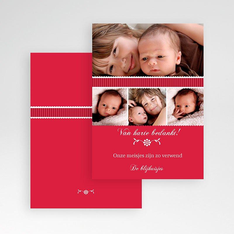 Bedankkaartje geboorte dochter - De eerste dag 12000 thumb
