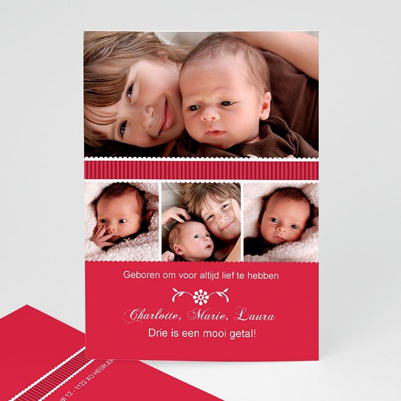 Geboortekaartje meisje - De eerste dag 12001 thumb