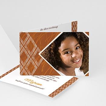 Adoptiekaarten voor meisjes - Baby Afrika - 1