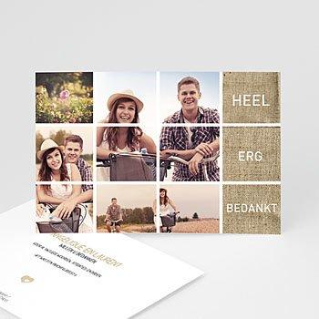 Archief - Mozaiek trouwkaart - 1