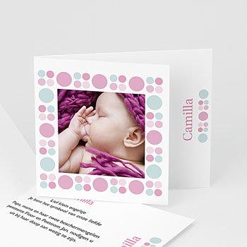 Archief - doopkaart neutraal roze en blauw - 1