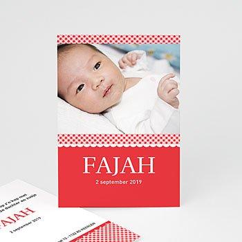 Geboortekaartje meisje - Het kraampje - 1