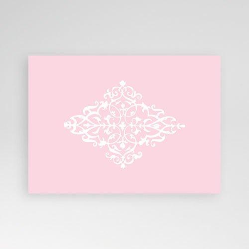 Geboortekaartje meisje - Roze dutch design 12224 thumb