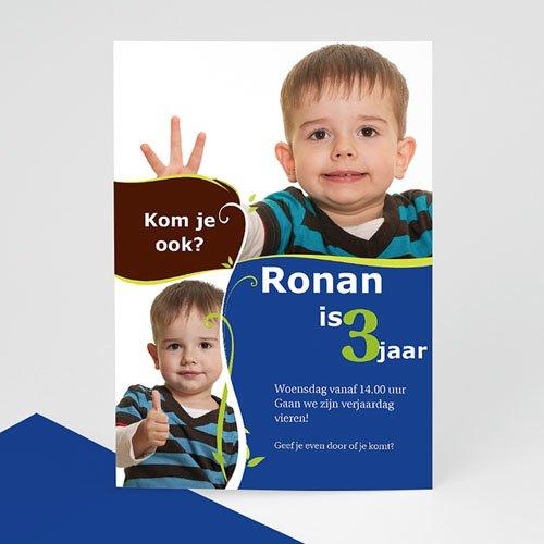 Verjaardagskaarten jongens - Ik groei, jongen 12225 thumb