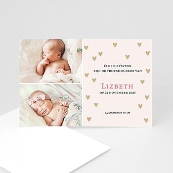 Geboortekaartje meisje - Een warme herfst - 1