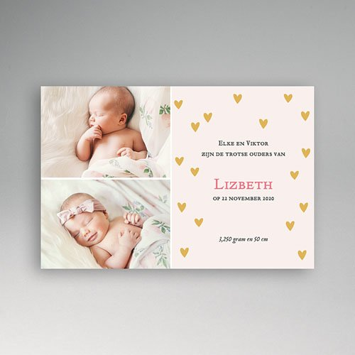Geboortekaartje meisje - Een warme herfst 12247 thumb
