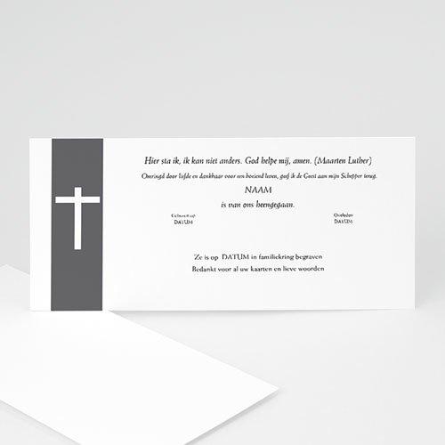 Bedankkaarten overlijden, Christelijk - Mijn liefde, mijn verdriet 12321 thumb