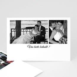 Bedankkaartjes huwelijk Confetti vierkant