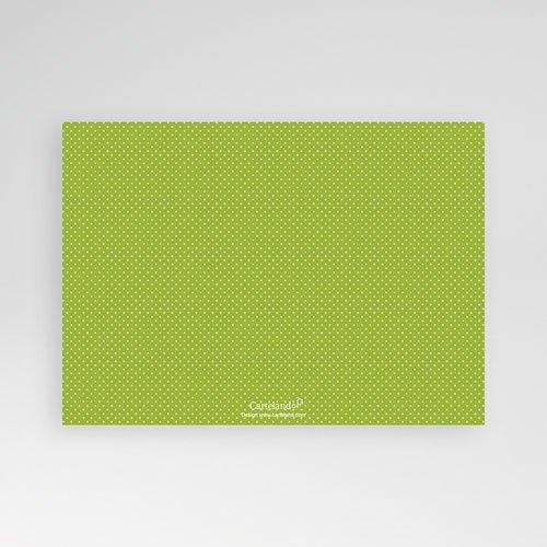 Fotokaarten met 2 foto's - Groen en witte stippen 12336 thumb