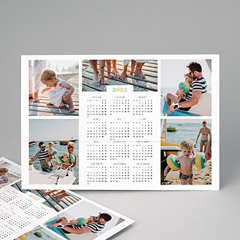 Kalender Jaarplanner 2020 - kleuren kalender multifoto - 2