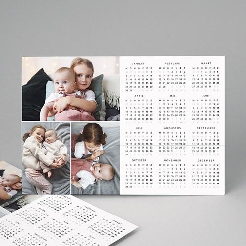Kalender jaaroverzicht - Persoonlijke kalender kleuren 12415 thumb
