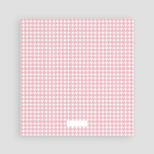 Bedankkaartje geboorte dochter - Roze knoopjes 12434 preview