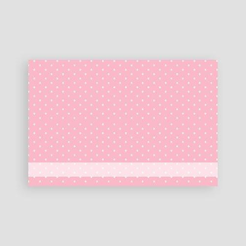 Geboortekaartje meisje - Pink Lady 12450 thumb