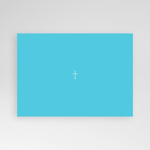 Doopkaartje jongen - Blauw diafragma 12497 preview