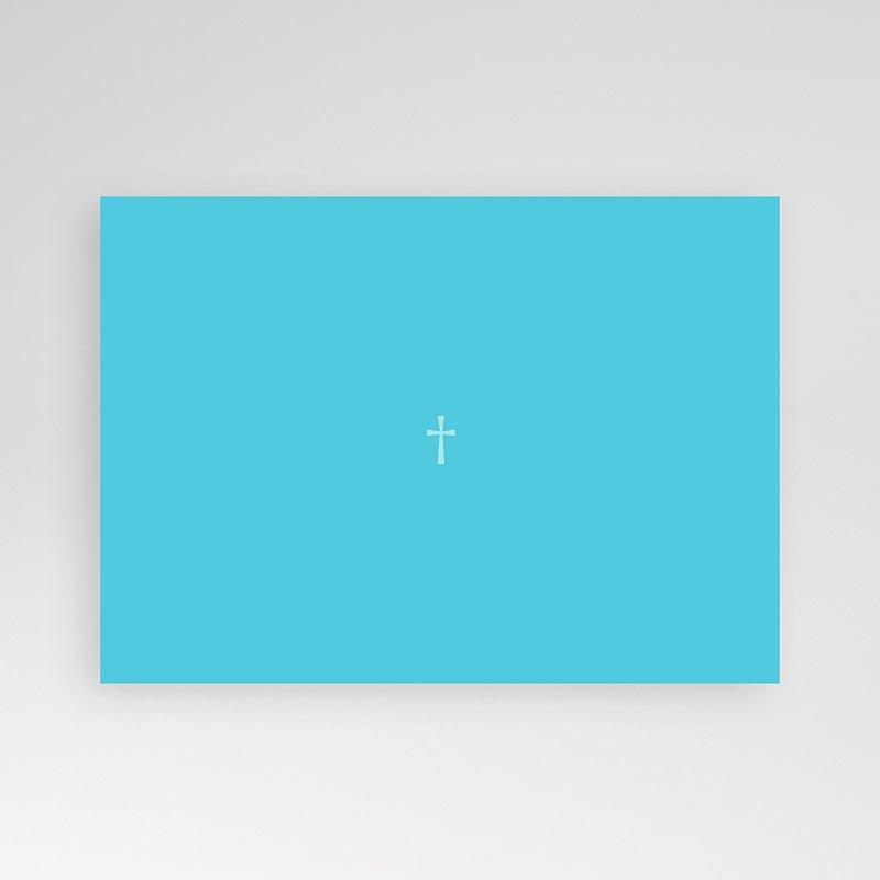 Doopkaartje jongen - Blauw diafragma 12497 thumb