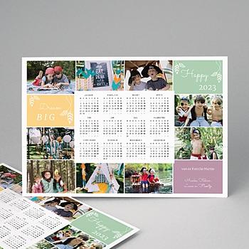 Kalender Jaarplanner 2020 - De kleuren in het jaar - 1