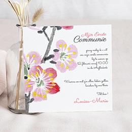 Aankondiging Communie Uitnodiging eerste communie - Bloei van de Geest -