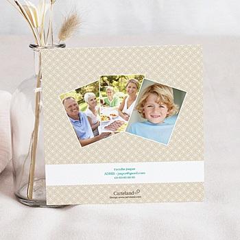 Bedankkaart communie jongen - uitnodigingskaart  communie jongens- State of Grac - 6