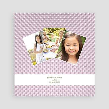 Bedankkaart communie meisje - Uitnodiging communie - Heilige momenten - zokaartj - 6