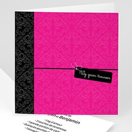 Personaliseerbare trouwkaarten - Roze save the date - 1