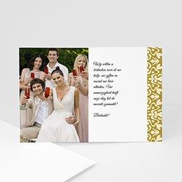 Bedankkaartjes Deco huwelijk