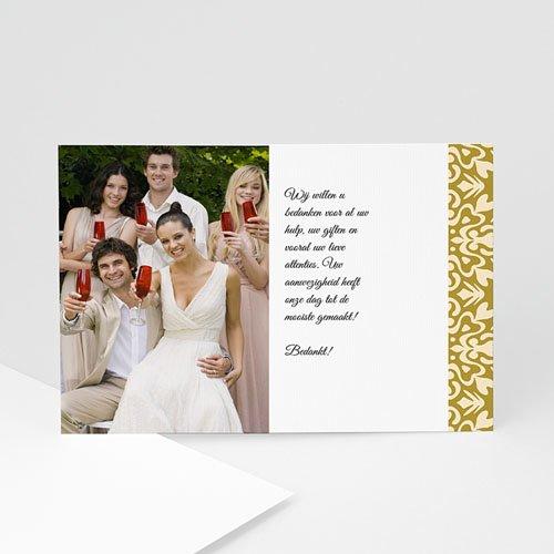 bedankkaartjes huwelijk