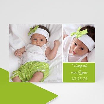 Fotokaarten met 2 foto's - Groen en fris - 1