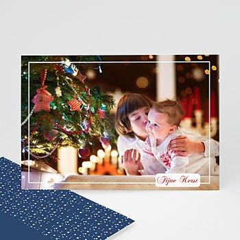 Fotokaart, 1 eigen foto - Grote fotokaart met tekstvakje - 1