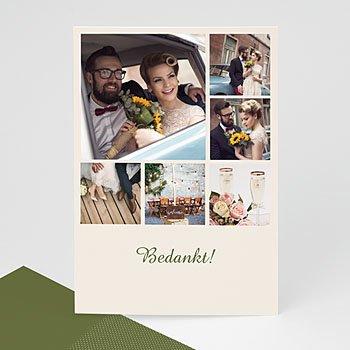Multi fotokaarten, meerdere foto's - Mosgroen, donkergroen, legergroen multifoto - 1