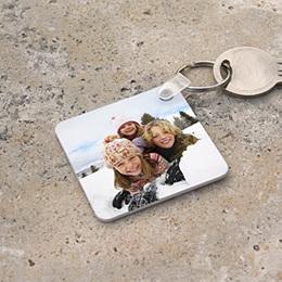 Sleutelhanger Kado Foto-sleutelhanger, vierkant