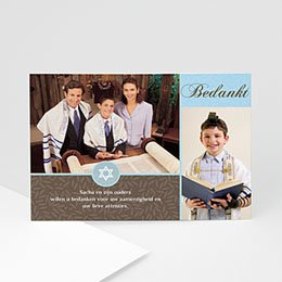 Bedankkaartjes Bar Mitzvah Bar Mitzvah thanks