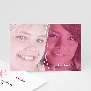 Bedankkaartjes samenlevingsovereenkomst - Uitnodiging homohuwelijk 4209 - 1