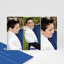 Bedankkaartjes Bar Mitzvah  3 foto's