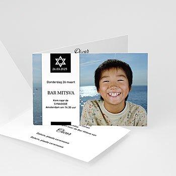 Bar mitswa uitnodiging - Bar Mitswa uitnodiging 4199 - 1
