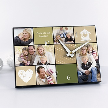 Klokken - Multi-foto klok 4159 - 1