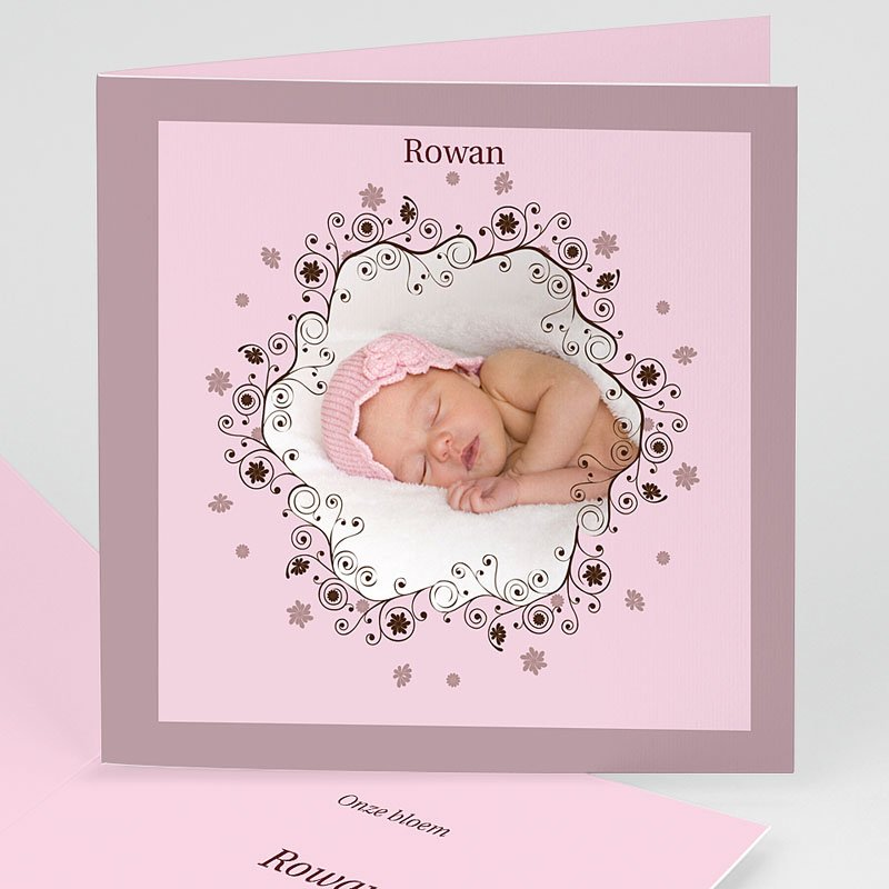 Geboortekaartjes Meisje Geboorte 1852