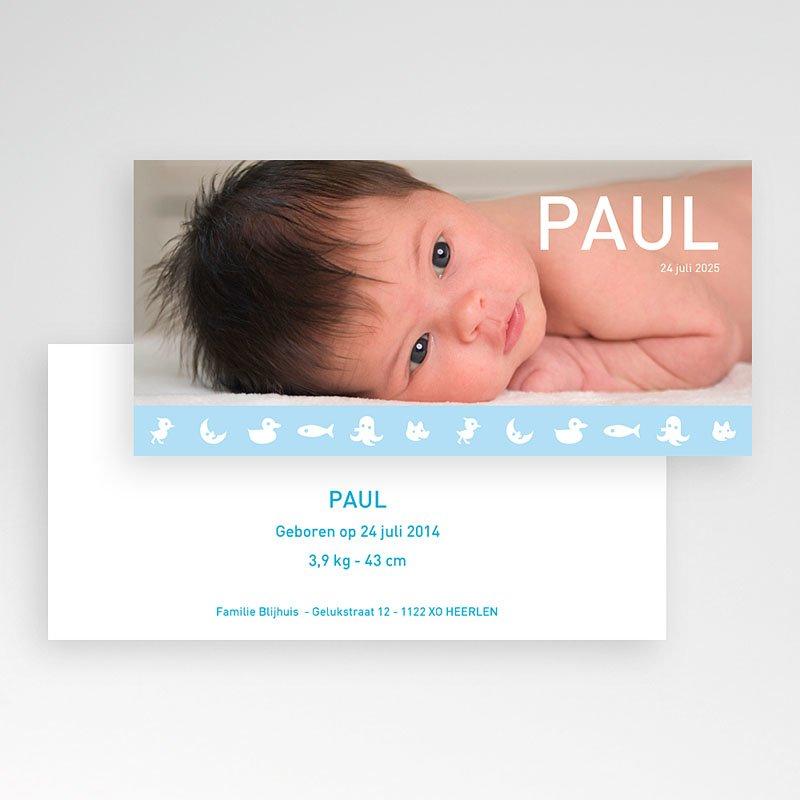 Geboortekaartje jongen - Geboorte 1868 13507 thumb