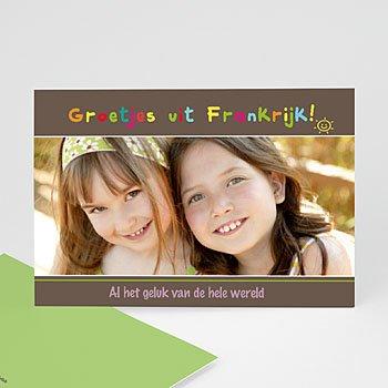 Fotokaart, 1 eigen foto - multifotokaart 4264 - 1