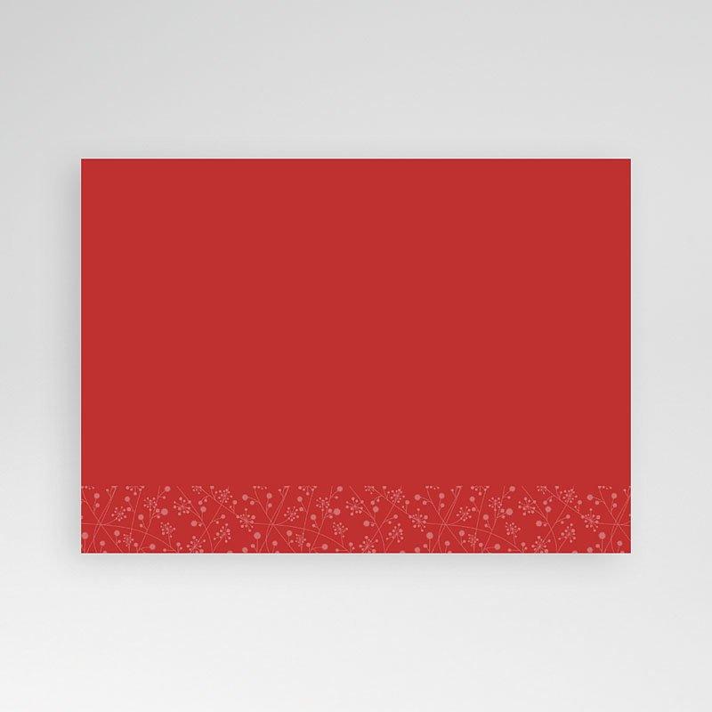 Fotokaart, 1 eigen foto rood lint fotokaart 4259 pas cher