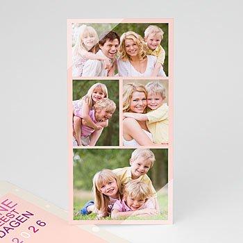 Multi fotokaarten, meerdere foto's - 4 foto's wensen 4269 - 1
