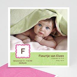 Aankondiging Geboorte geboortekaartje 3414