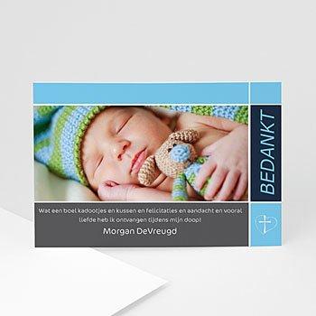 Bedankkaart doopviering meisje - Doopsel 2138 - 1